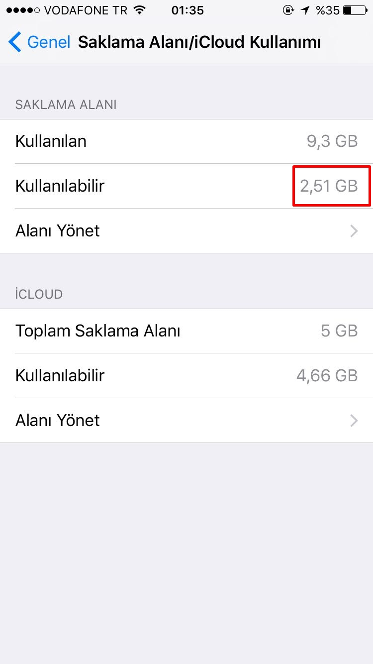 iPhone'da önbellek temizliği nasıl yapılır?